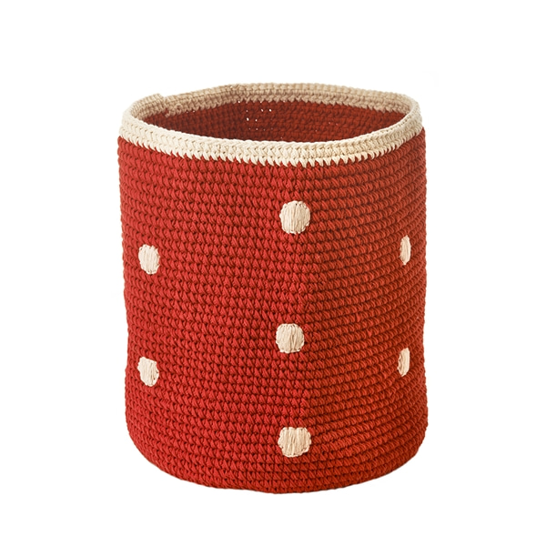 Basket Red Dots