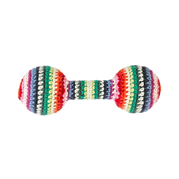 Baby rattle Small mix stripe