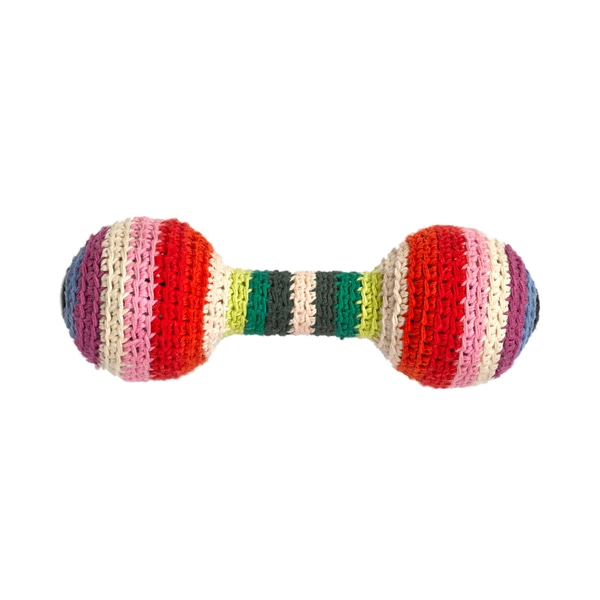 Baby rattle Mix stripe